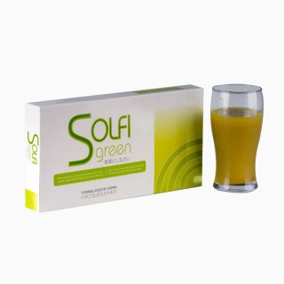 Solfi Green (3) Mixed Fruits & Vegetables powder drink