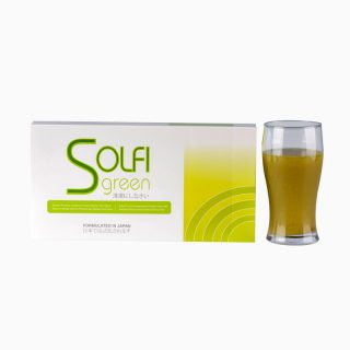 Solfi Green (4) Mixed Fruits & Vegetables powder drink